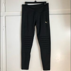 "Puma ""Moto"" black leggings. New with tags"